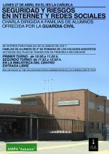 CARTEL COLEGIOS CHARLAS GUARDIA CIVIL