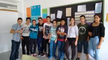 El grupo del TALENT SHOW